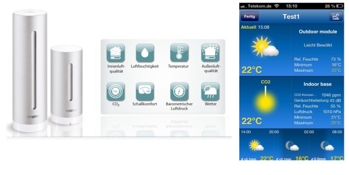 Daten der NetAtmo-Station in Weather Pro einbinden