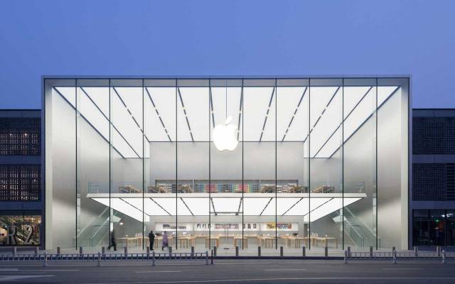 Westlake Apple Store in China von Foster + Partner