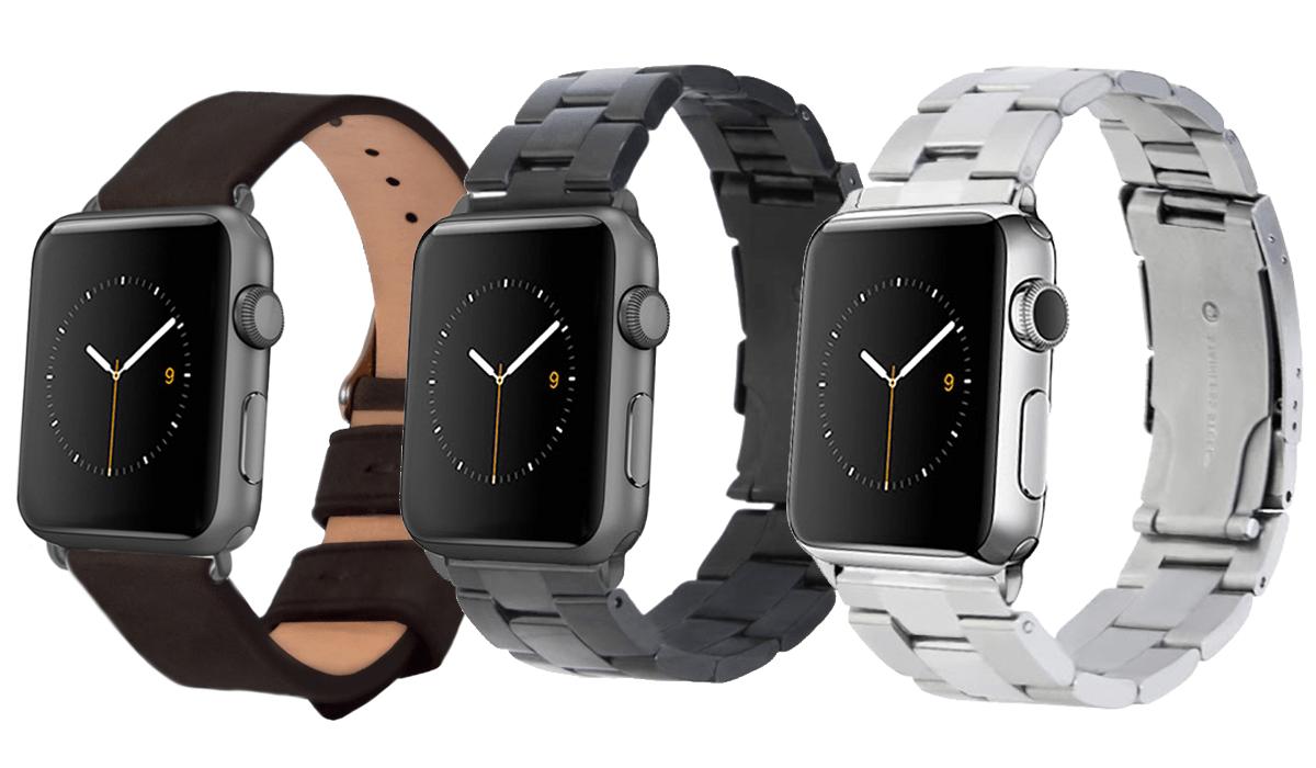 Monowear-Armbänder für die Apple Watch