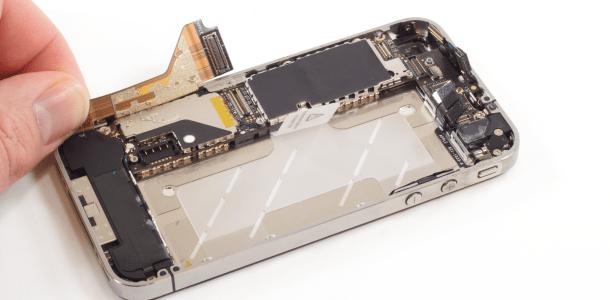 アイフォン修理報告【iPhone4sのDockコネクタ交換】
