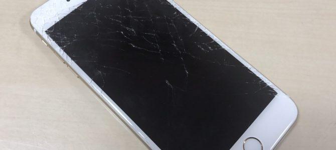 iPhone買取【割れたiPhone6Plus】