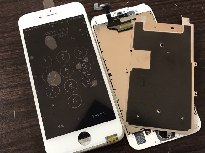 iPhone6sフロントパネル交換.0118