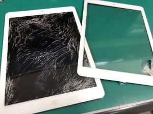 iPad.ガラス交換