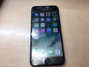 iPhone6ガラス割れ1205