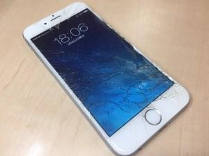 iphone6ガラス割れ前0109