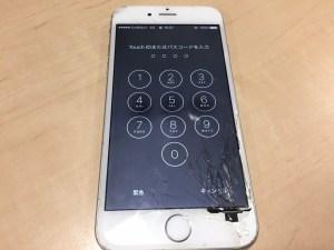 iPhone6フロントパネル交換前0130