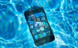 iPhone水没の注意点