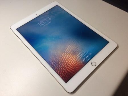 iPadAir2修理後29/01/16