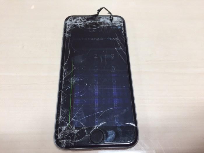 iPhone6フロントパネル修理2.0408