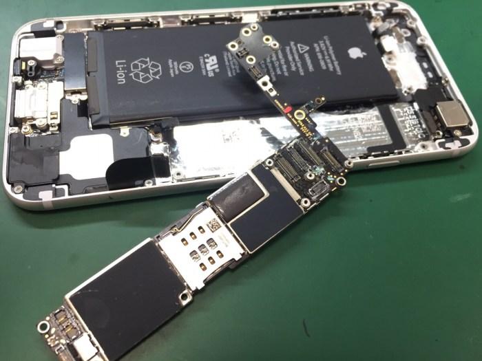 iPhone6水没洗浄2.0421