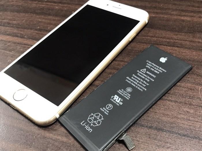iPhone6バッテリー修理2.0407