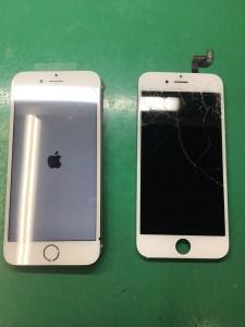 iPhone6画面修理2/7