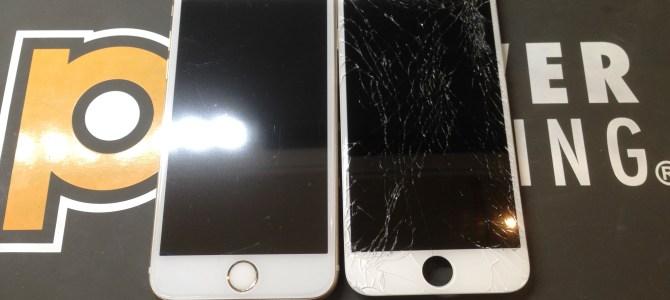 iPhone6s画面修理 アイフォンクリア MEGAドン・キホーテ苫小牧店 Phone/iPad修理専門店Pro ブログ 2018/03/11