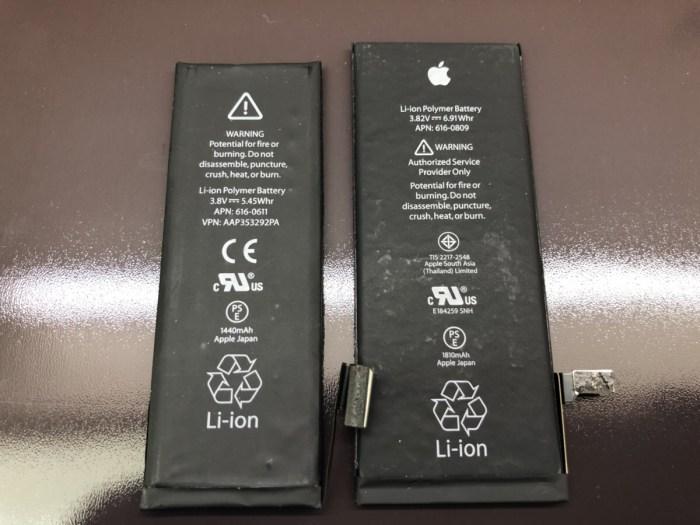 iphone バッテリー 電池