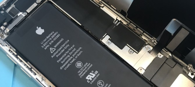 iPhone8の中身ってこんな感じ! アイフォンクリア札幌パルコ店 iPhone/iPad修理専門店Proブログ2018/04/01