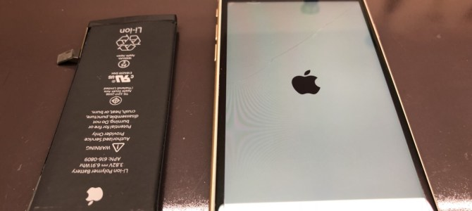 iPhone(アイフォン)修理日記!バッテリー(電池)交換 iphone6!! アイフォンクリア 恵庭店 iPhone/iPad修理専門店ブログPro2018/05/20