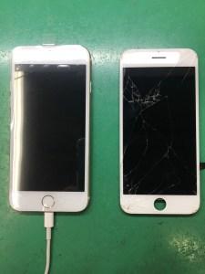 iPhone7画面修理0727