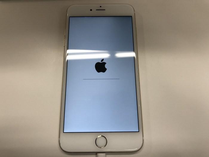 iphone6Plusリカバリー千歳0804