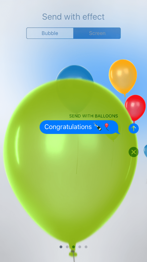 How Do I Add Balloons Confetti Effects To Messages On My Iphone The Iphone Faq