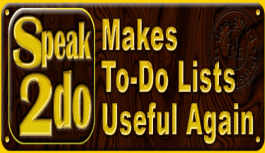 Speak2Do – Organize, Group and Record your events: Review
