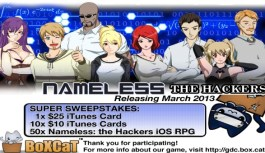 Contest – Get Yourself a copy of Nameless: The Hackers game for iOS or a $25 iTunes Giftcard