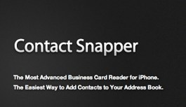 Business Card Scanner – Contact Snapper: Review