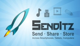 Send and receive large files up to 100GB with SendItz 1.0.2 for iOS & Android