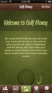 Golf Money Screenshot 1