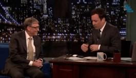 That Awkward moment when Bill Gates discovers that Jimmy Fallon Uses a Mac