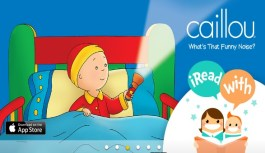 Caillou: What's That Funny Noise? – i Read With learning method for preschool kids – Review