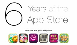Happy 6th Anniversary App Store, Stay Awesome!