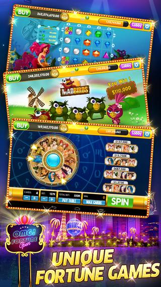 omg fortune free slots casino