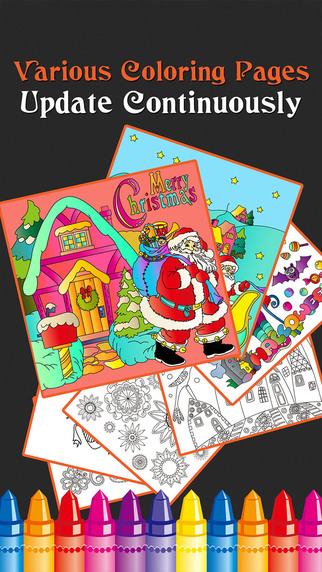 Once You Open The App Can Select Category That Youre Going To Color As Offers Various Categories Like Christmas Halloween City Skull