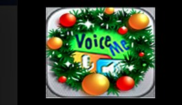 Be Jolly This year with VoiceMe Christmas Carol App