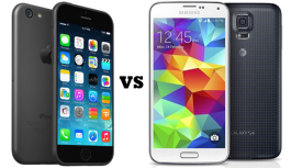 Battle Of The Handsets: Samsung vs. iPhone