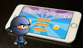 Ninja Avengers, The Fun Filled Action Pack Arcade Game