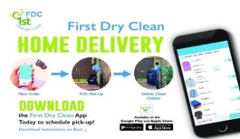First Dry Clean – High Quality Laundering Service App