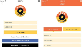 Seek Karma app is a very useful volunteer jobs platform for iOS devices