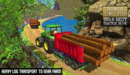 Farming Simulator 2018 – Real Tractor Transport Driving