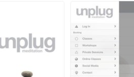 App Review – Unplug Meditation Booking