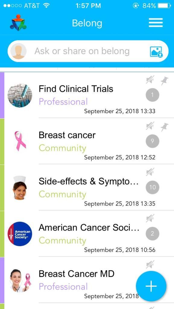 iPhoneGlance - belong app