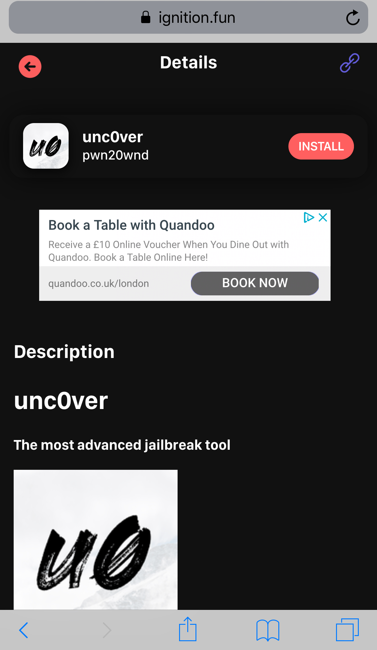 How to install unc0ver Jailbreak without a computer