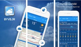 BYVEJR – Incredible Weather Forecast App for Denmark