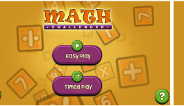 Math Challenger – Play and Practice the Four Basic Math Operations
