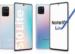 Samsung Officially Releases Galaxy S10 Lite and Note 10 Lite