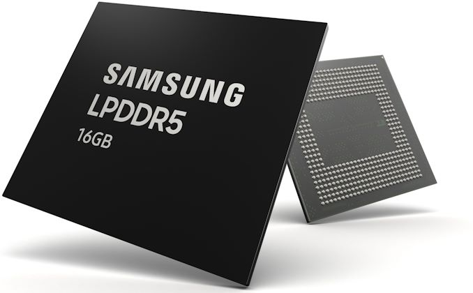 Samsung LPDDR5 Mobile RAM