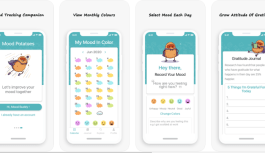 Mood Potatoes – Convenient Mood Tracker and Mindful Journal