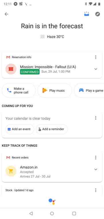 Google Assistant Android