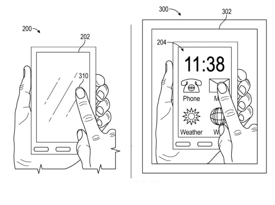 Apple Glass Patent AR Display On iPhone For Privacy