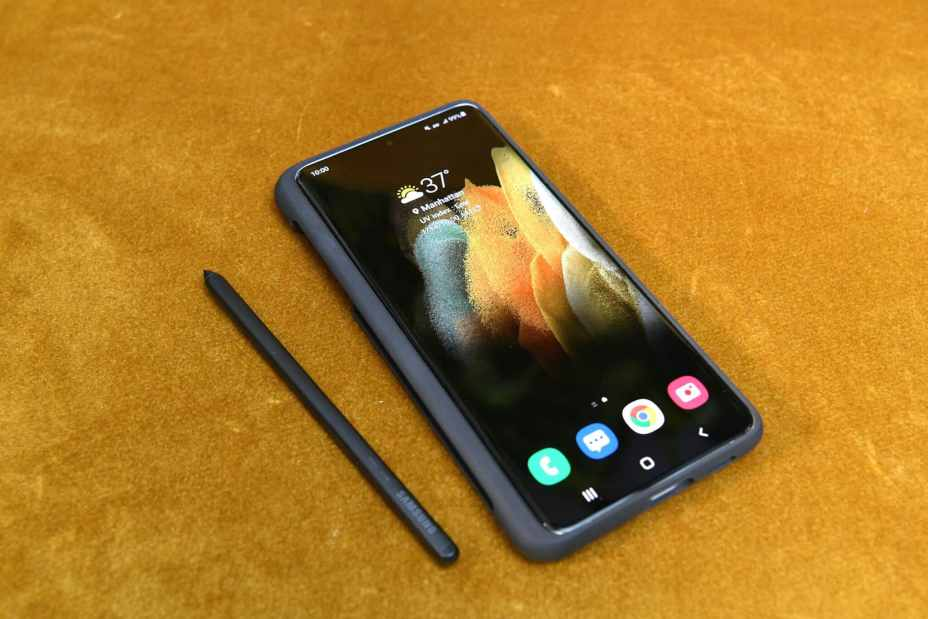 S Pen and cover